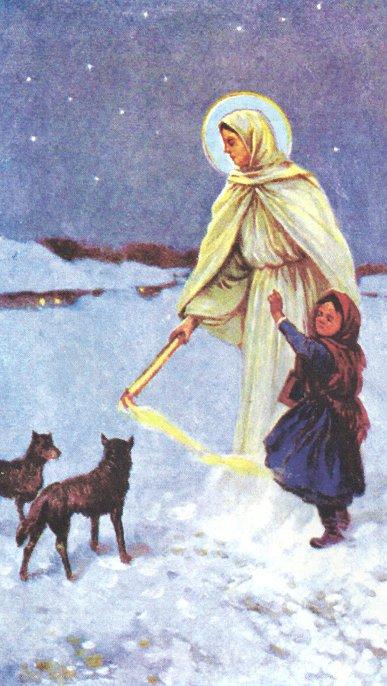 Matka Boża Gromniczna I Lutowy Wilk